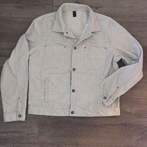 Club Monaco Men's Trucker Style Corduroy Jacket